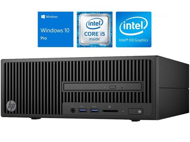 HP 280 G2 Desktop SFF, Intel Quad-Core i5-6500 3 2GHz Upto 3 6GHz, 8GB RAM,  128GB SSD, DVD-RW, HDMI, VGA, Card Reader, Wi-Fi, Bluetooth, Windows 10