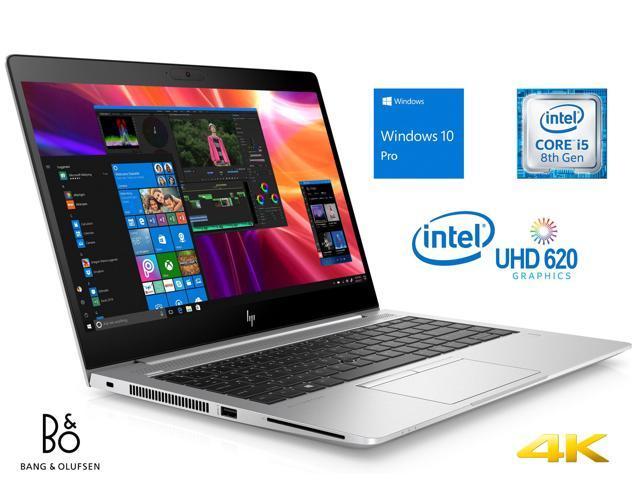"HP EliteBook 840 G5 Notebook, 14"" 4K UHD Display, Intel Core i5-8250U Upto 3.4GHz, 16GB RAM, 512GB NVMe SSD, HDMI, Wi-Fi, Bluetooth, Windows 10 Pro"