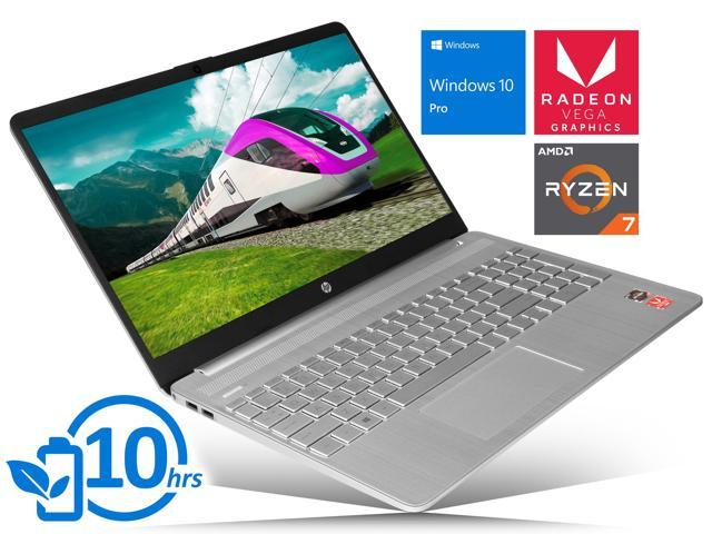 "HP 15 Notebook, 15.6"" HD Touch Display, AMD Ryzen 7 3700U Upto 4.0GHz, 32GB RAM, 256GB NVMe SSD, Vega 10, HDMI, Card Reader, Wi-Fi, Bluetooth, Windows 10 Pro"
