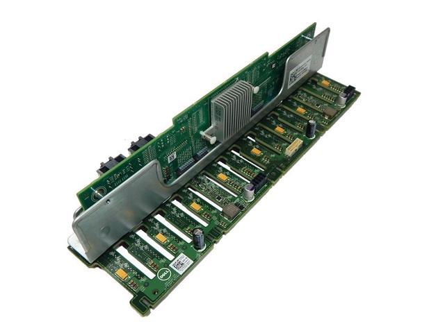 DELL 8X25D HARD DRIVE BACKPLANE CONTROLLER WITH BRACKET FOR POWEREDGE R720//R820
