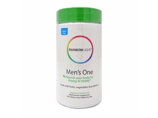 Rainbow Light 81539 Mens One Multi Vitamin Newegg Com