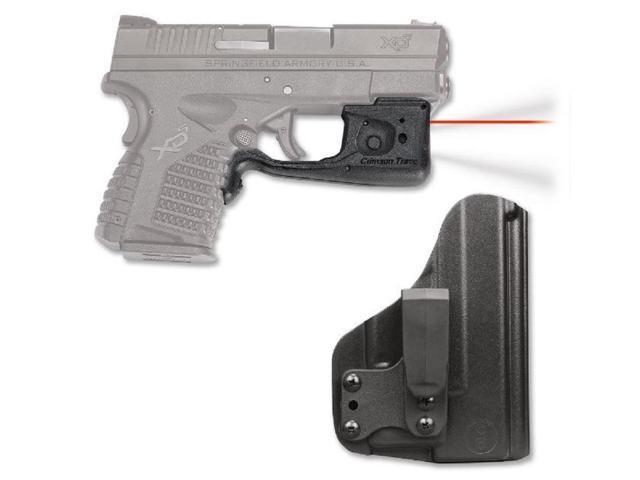 Crimson Trace LaserGuard Pro Springfield Armory XD-S Red Laser BladeTech  IWB Holster - Newegg com