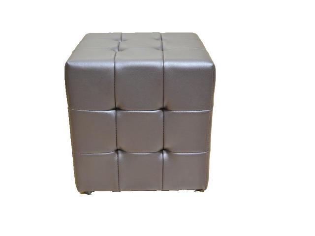 Brilliant Greatime Om1002Dbtufted Cube Ottoman Leather Like Vinyl White Color Newegg Com Creativecarmelina Interior Chair Design Creativecarmelinacom