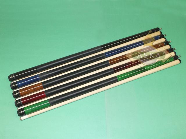 879ffc2516b Set of 5 Brand New Aska Pool Cue Sticks LEC