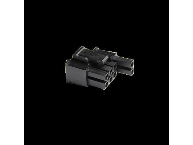 MMM 6+2-Pin PCI-E Female Connector - Black (MOD-0101) - Newegg ca