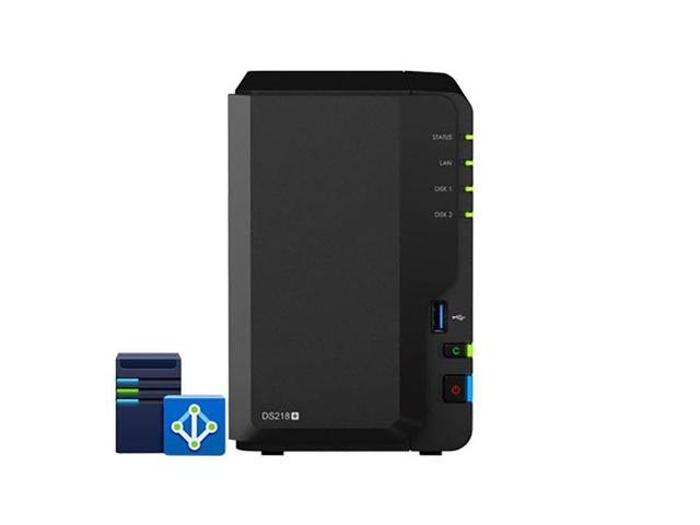 Synology DiskStation DS218+ Plug and Play Active Directory NAS Server -  Newegg com