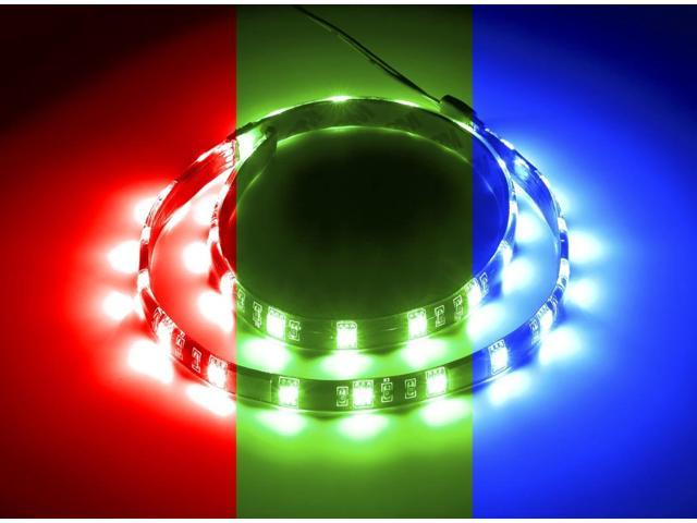Cablemod Widebeam Magnetic Led Strip Rgb 60cm Strip Only Newegg Com
