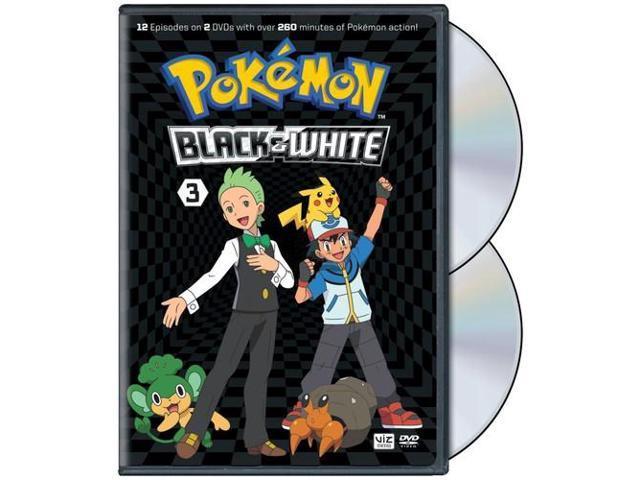 Pokemon Black White Set 3 Dvd 2 Disc Newegg Com