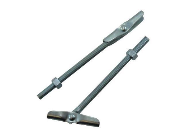 Zinc 5//16x3 Toggle Bolt Wing Anchors 25