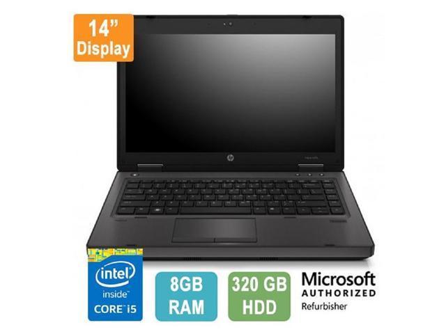 HP ProBook 6470b Laptop 320GB SATA Hard Drive Windows 10 Home 64 Loaded