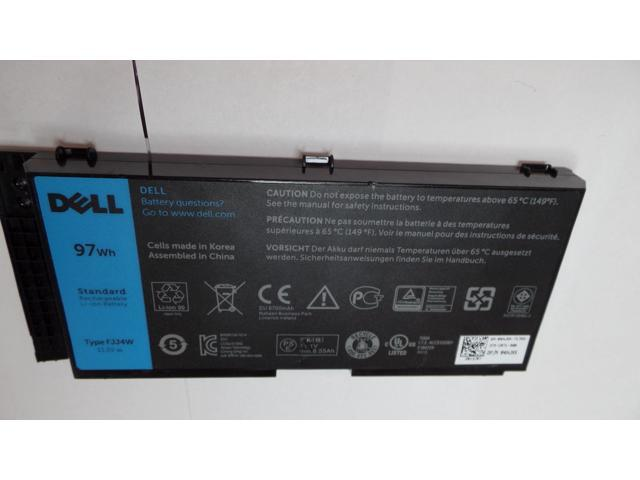 New OEM Genuine Dell Precision M4600 M4700 M6600 M6700 97wh 11 1V 4HJXX  FJJ4W FV993 - Newegg com