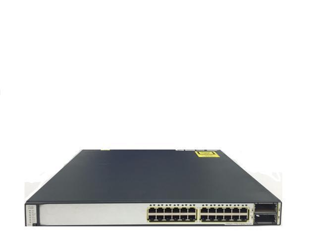 Cisco WS-C3560E-24TD-S 24 Port Gigabit Ethernet Switch X2 10GE C3K-PWR-265WAC