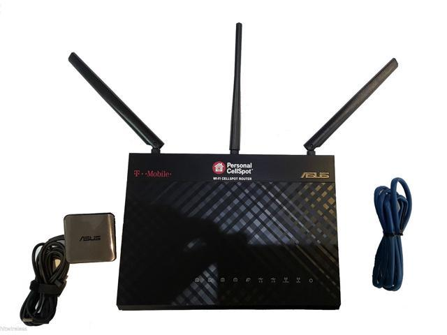 T-Mobile Asus OEM WiFi Cellspot 1300Mbps 4 Port Wireless Router TM-AC1900 -  Newegg com