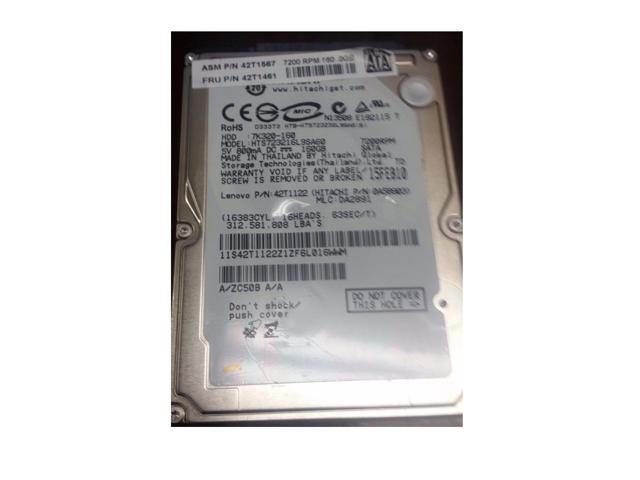 IBM Lenovo OEM Thinkpad T60 T61 X60 X61 160GB SATA Laptop Hard Drive -  Newegg com