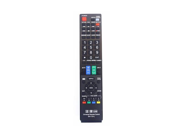 OEM Sharp Universal Remote Control GB004WJSA for All Sharp BRAND TV Smart  TV - Newegg com