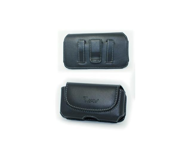 Black Belt Case Holster Pouch with Clip/Loop for Assurance Wireless Unimax  U673C - Newegg com