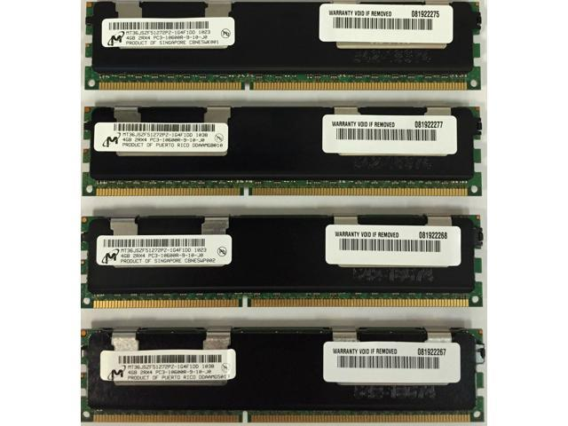 HS22V 7871 46C0599 16GB PC3-10600 VLP RDIMM Memory IBM HS22 7870 HS23 7875