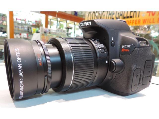 ZOOM Lens FOR Canon EOS REBEL T3 T3I T4i T5I 1000D XT D1000 60D XSI T2I  4KHD! - Newegg com