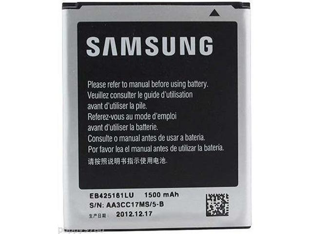 Samsung Cell Phone Battery Galaxy S Duos 2 GT-S7582 3 8V 1500mAh EB425161LU  - Newegg com