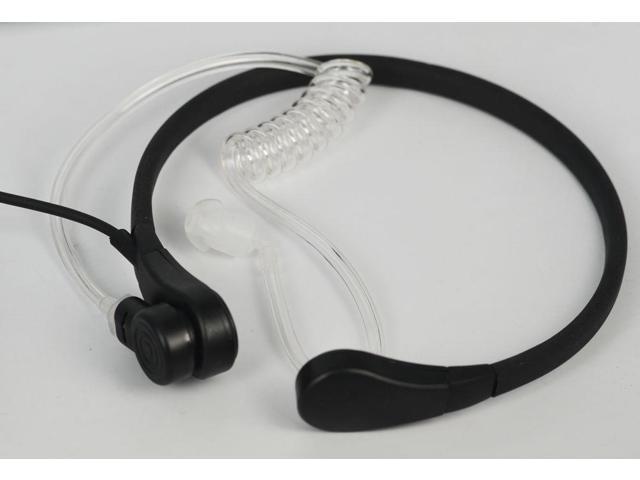 Throat Mic Headset//Earpiece Cobra Walkie Talkie VOX//PTT