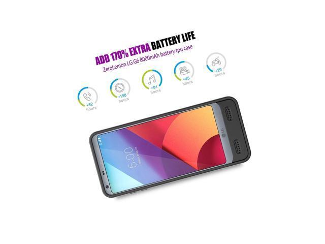 For LG G6 Battery Case, ZeroLemon Ultra Power 8000mAh Extended Battery Case  - Newegg com