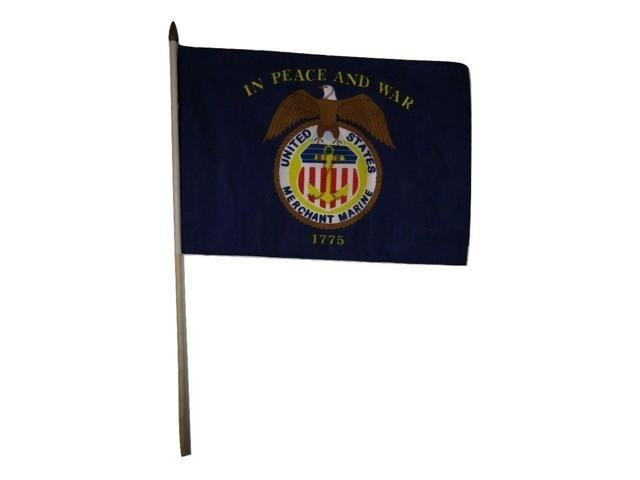 "12x18 12/""x18/"" USMC 3rd Division Marines Marine Corps Stick Flag wood staff"