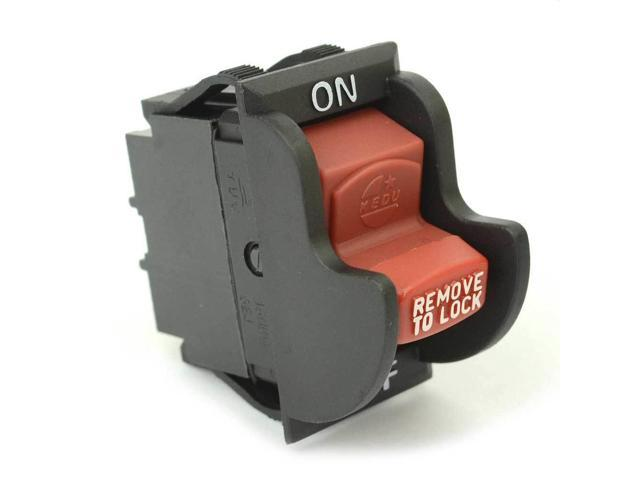 SW29E 154310 On-Off Toggle Switch 4 Pole Replaces DeWalt Part # 5130221-00