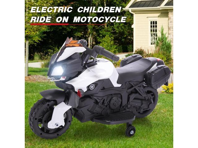 6V Kids Ride On Motorcycle Battery Powered Bicycle Electric Toy W//Training Wheel