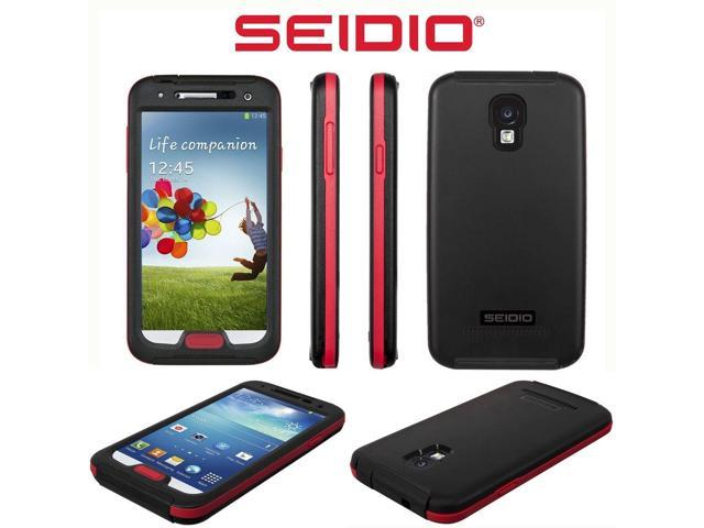 newest ce7fc c8dd6 Seidio OBEX Samsung Galaxy S4 S IV WaterProof Underwater Case Cover Black  Red - Newegg.com