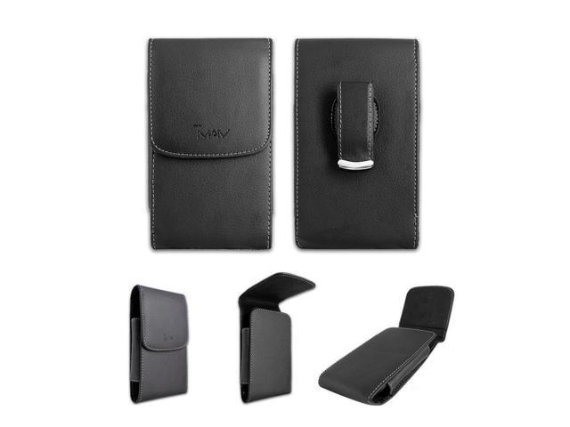 Black Leatherette Case Holster with Belt Clip for TMobile/MetroPCS LG K7 -  Newegg com