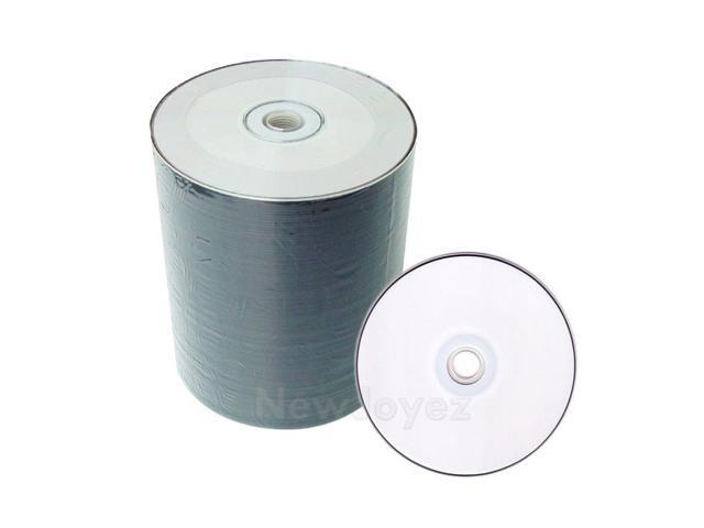 image relating to Printable Blank Cds named 500 White Inkjet Printable CD-R 52X Blank Disc 5*100 -