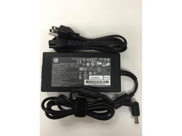 Genuine Original HP//Compaq 120W Smart AC Adapter Charger Power Supply Cord