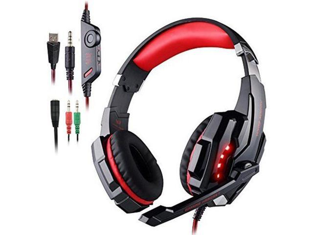 EACH G9000 Gaming Headset Mic for PS4/Xbox One Stereo Gaming Headset  Headphone - Newegg com