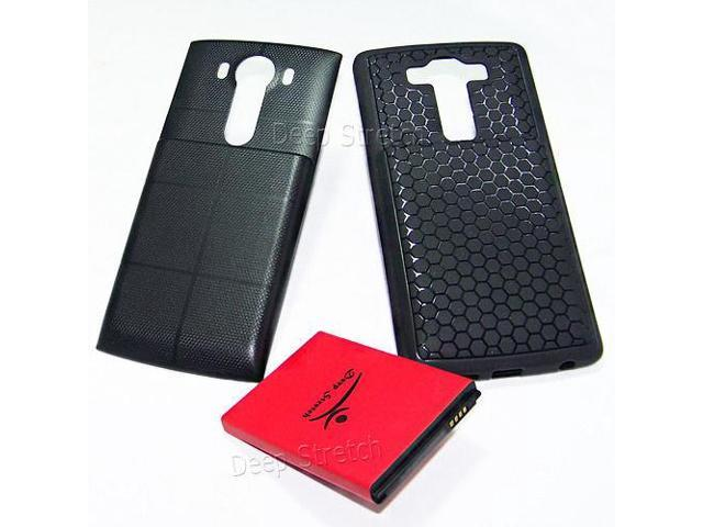 11000mAh Extended Battery Cover Soft TPU Case f LG V10
