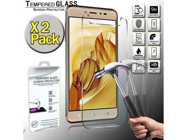 2 Pack Real Tempered Glass Screen Protector Cover For Coolpad Note 5 -  Newegg com