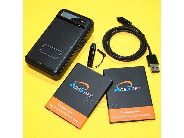 AceSoft 4170mAh Extended Slim Battery Dock Charger Cable Styli for LG V10  4G LTE - Newegg com