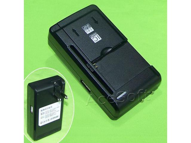 100% authentic 4437d c905d Universal Travel Dock Home USB/AC Battery Charger for ZTE Z223 AT&T Go  Phone USA - Newegg.com