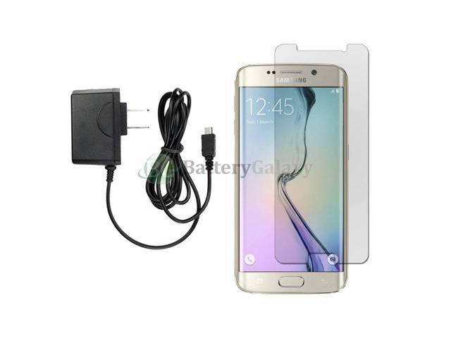 Wall Charger+LCD Screen Protector for Android Phone Samsung Galaxy S6 Edge  Plus - Newegg com