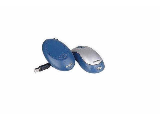 Refurbished: Microsoft K80 Blue/SIlver PS2/USB Wireless Scroll Optical  Mouse - Newegg com