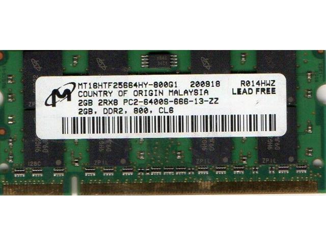 LE1700 Tablet DDR2 RAM Memory NEW 2GB Motion Computing LS800