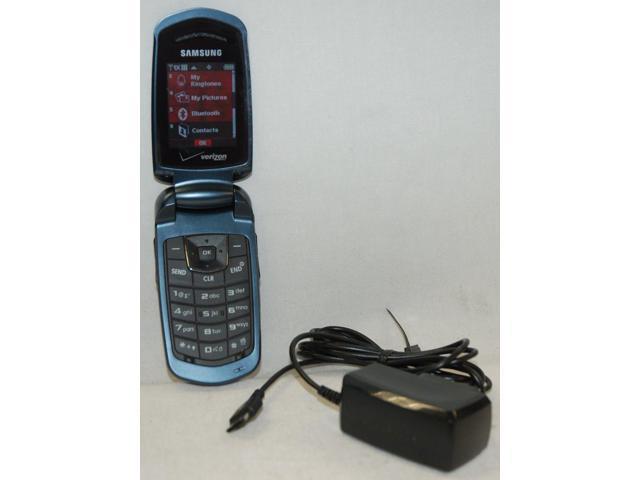 Used - Like New: Samsung Smooth Verizon Flip Cell Phone SCH-U350 Prepaid  Mobile BLUE NO CONTRACT - Newegg com
