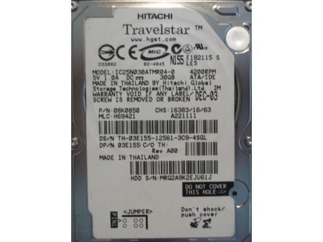 HTS723232A7A364 P//N DA3735 Thailand Hitachi 320GB 0A79646 MLC