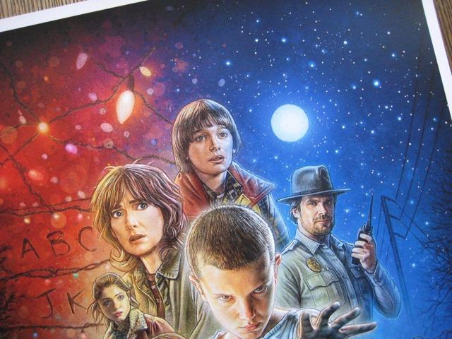 """Movie Collector/'s Poster Print B2G1F Stranger Things 2 11/"""" x 17/"""""""