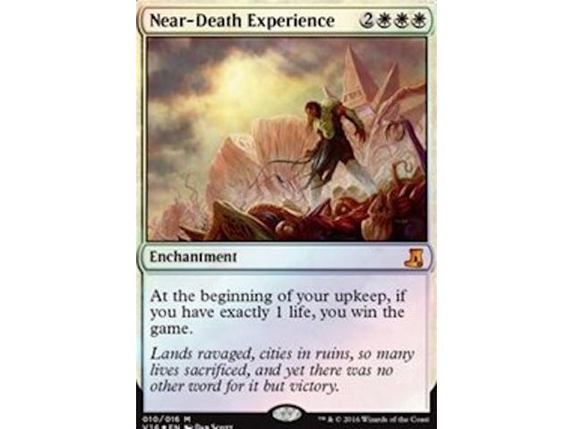 ***4x FOIL Near-Death Experience*** MINT From the Vault Lore Magic Card