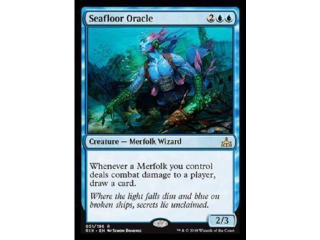 Seafloor Oracle x4 4x Magic the Gathering Rivals of Ixalan MTG