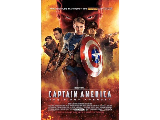 "Collector/'s Poster Print - - B2G1F 11/"" x 17/"" T2 Captain America First Avenger"