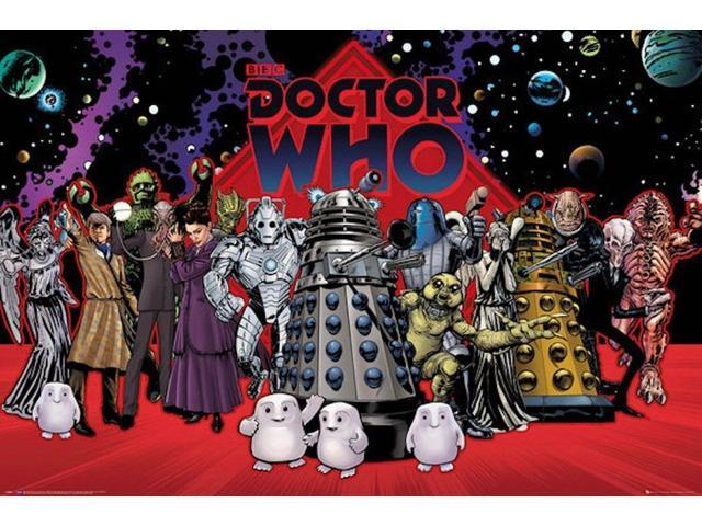 CHARACTER COLLAGE POSTER 24x36 DR WHO DOCTOR 52424
