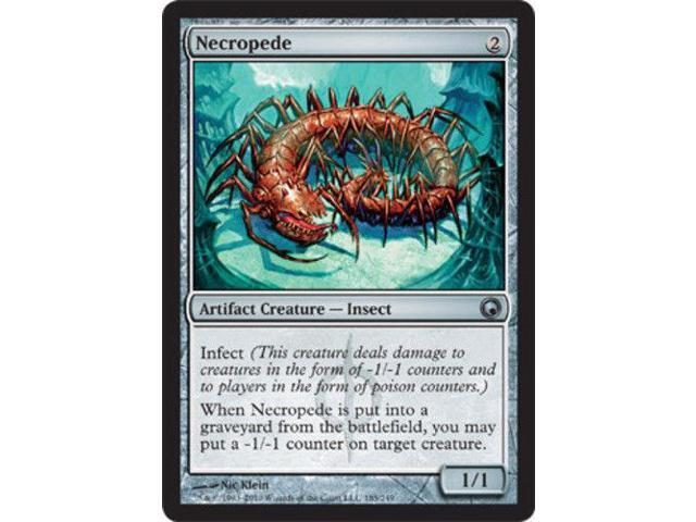 Necropede Magic the Gathering MTG Scars of Mirrodin SP//NM