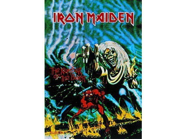IRON MAIDEN NUMBER OF THE BEAST HFL0049 FABRIC POSTER 30x40 WALL HANGING
