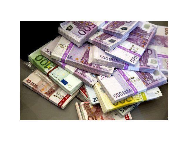 Money Euros poster 24x36 Bank European